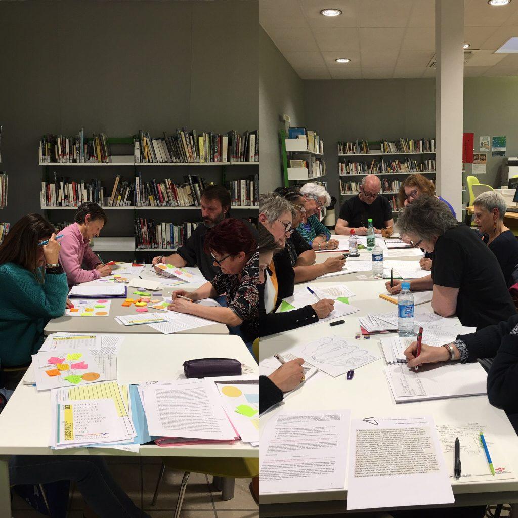 Ateliers écriture semaine littéraire 2019 Villefranche-sur-Saône