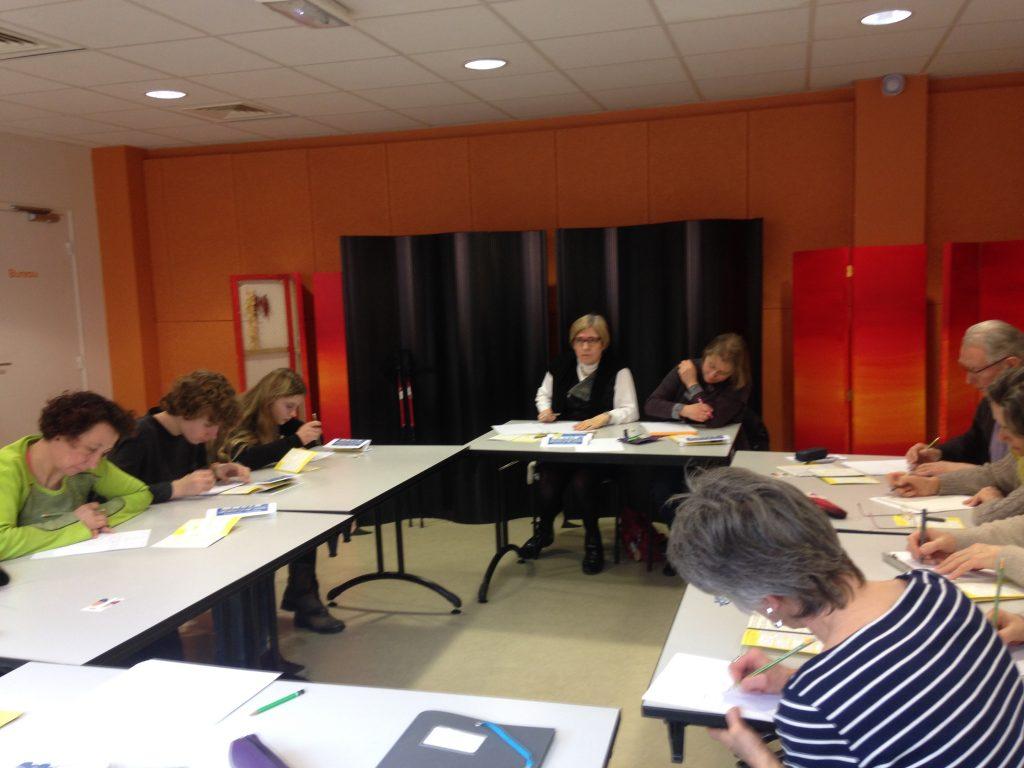 Atelier d'écriture autour des 10 mots médiathèque Châtillon-sur-Chalaronne