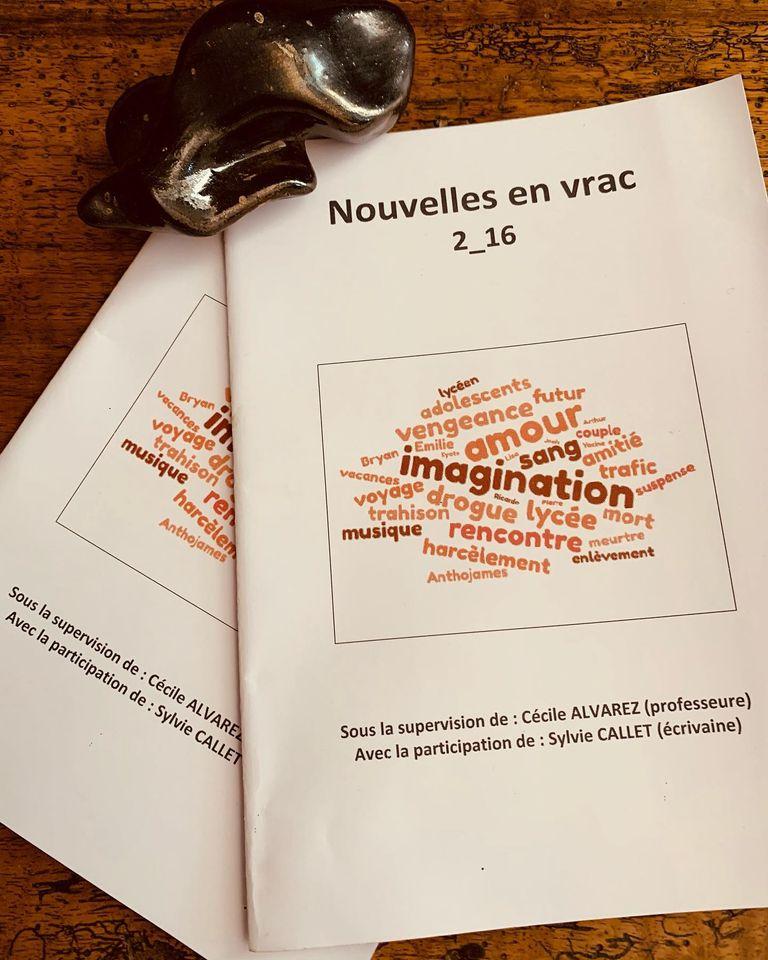 Nouvelles littéraires écrites par les élèves de seconde du lycée Louis Armand à Villefranche - Gleizé
