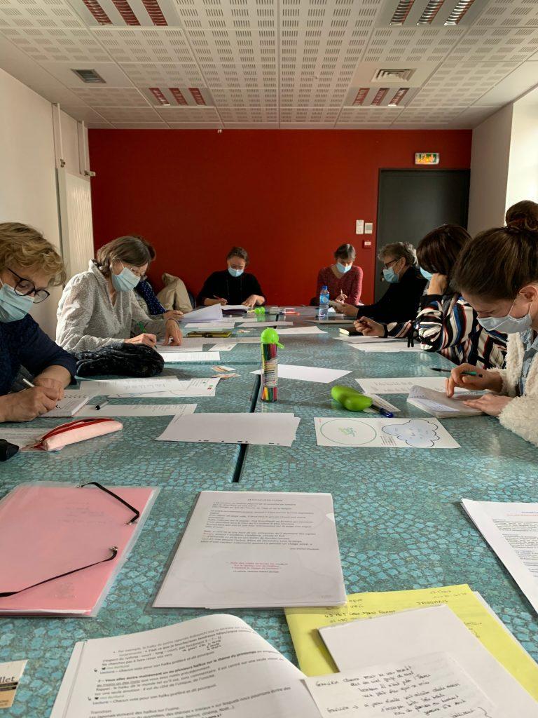 Atelier écriture haïkus et courts poèmes Jassans